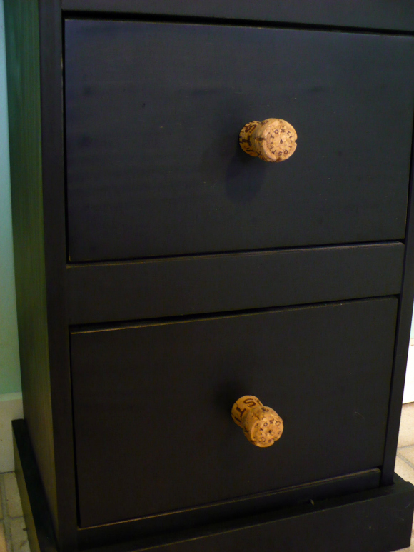 Make Recycled Champagne Cork Drawer S Dollar Crafts