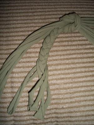recycled tshirt step