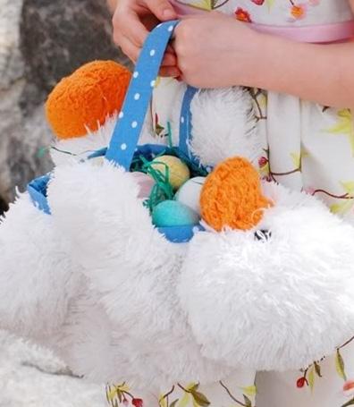 stuffed animal basket