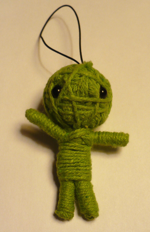 Make A Yarn Voodoo Doll Dollar Store Crafts