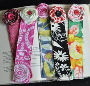 Fabric Bookmark