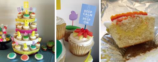 Melinda's Peep Cupcakes