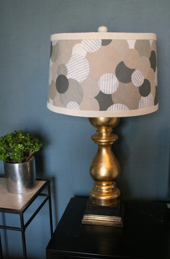 Make An Anthro Inspired Lampshade Dollar Store Crafts