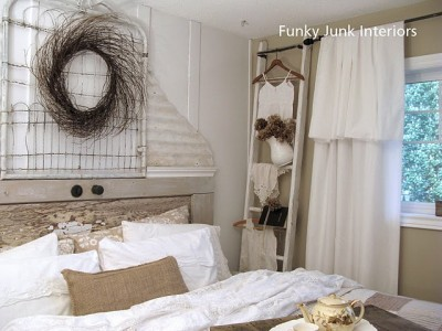 Bedroom Makeover by Funky Junk Interiors ]