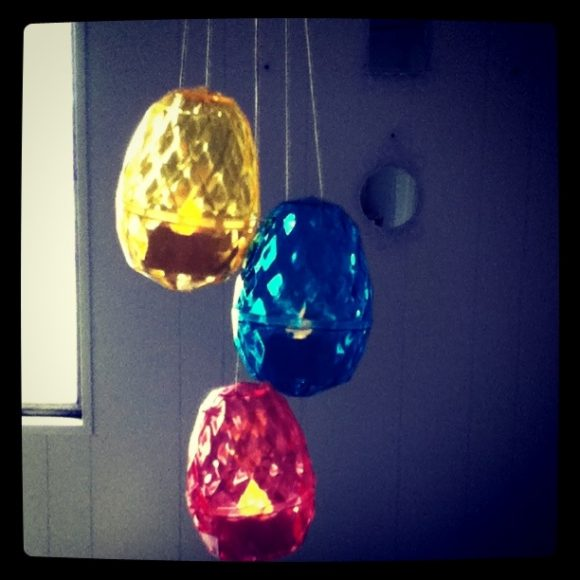 easter egg pendant lamp