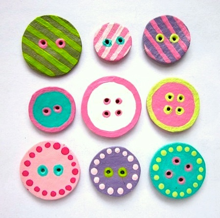 Craft Ideas  Cartons on When I First Saw These Recycled Egg Carton Buttons By