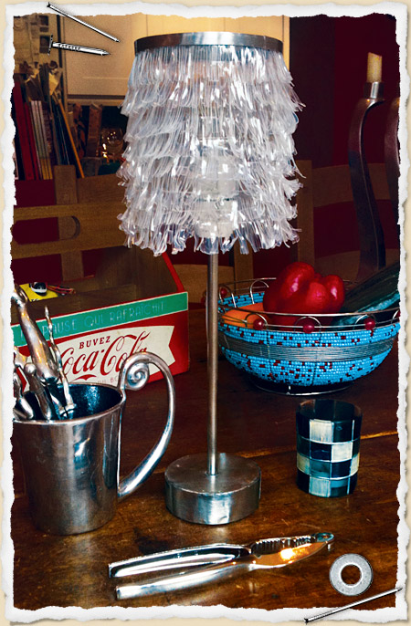 Make a Recycled Plastic Lamp » Dollar Store Crafts