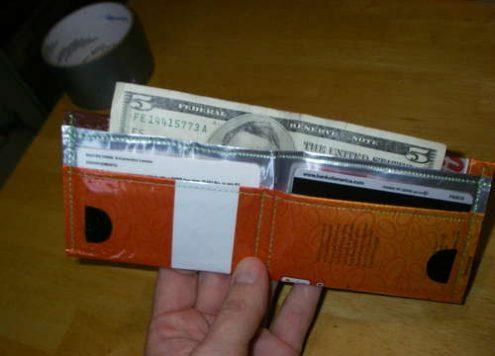 Coffee Bag Wallet