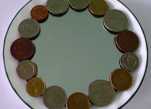 Rhonda's European Coin Mirror