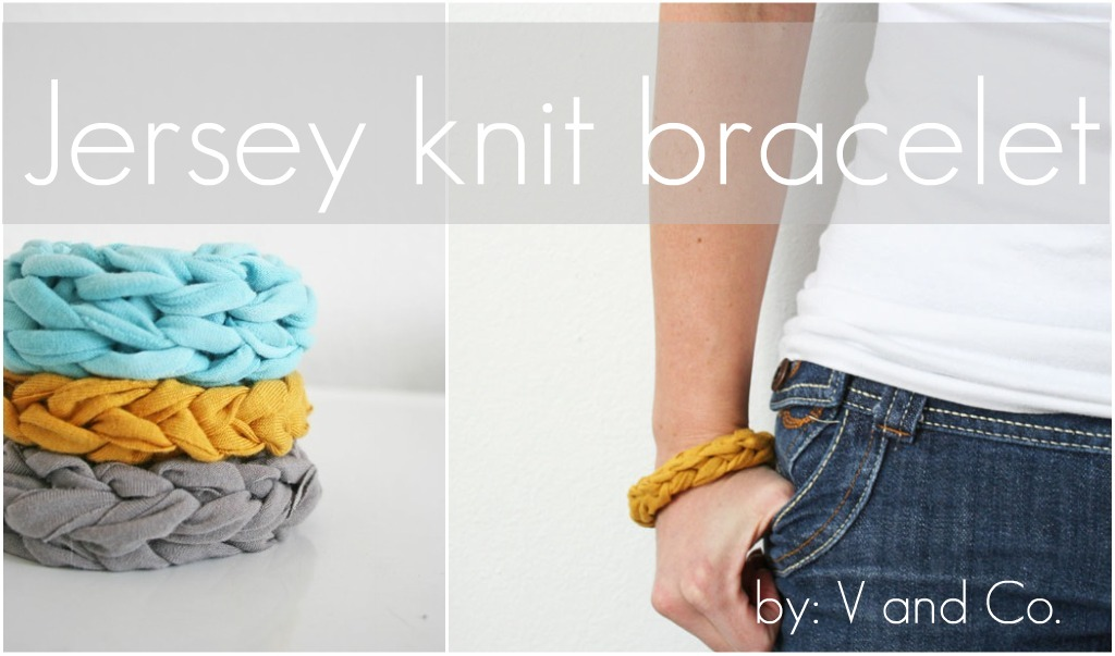 Dollar Store Crafts » Blog Archive » Recycled T-shirt Finger Knit ...