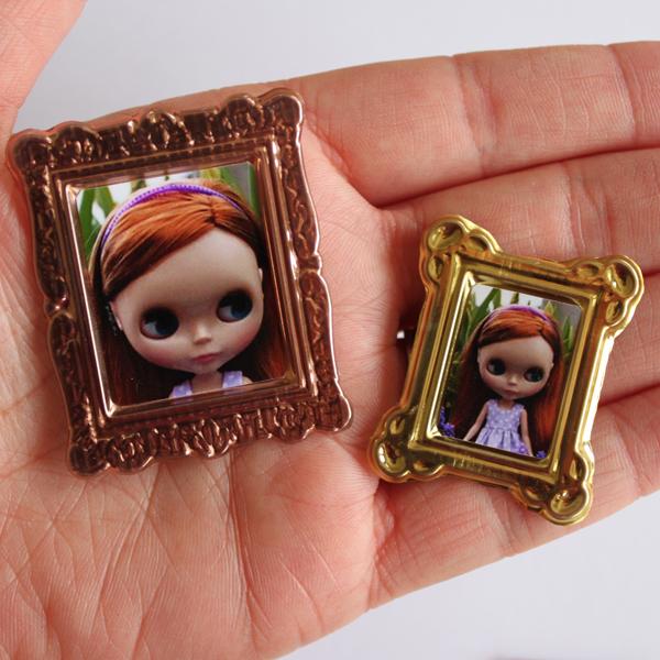 Miniature Photo Frames » Dollar Store Crafts