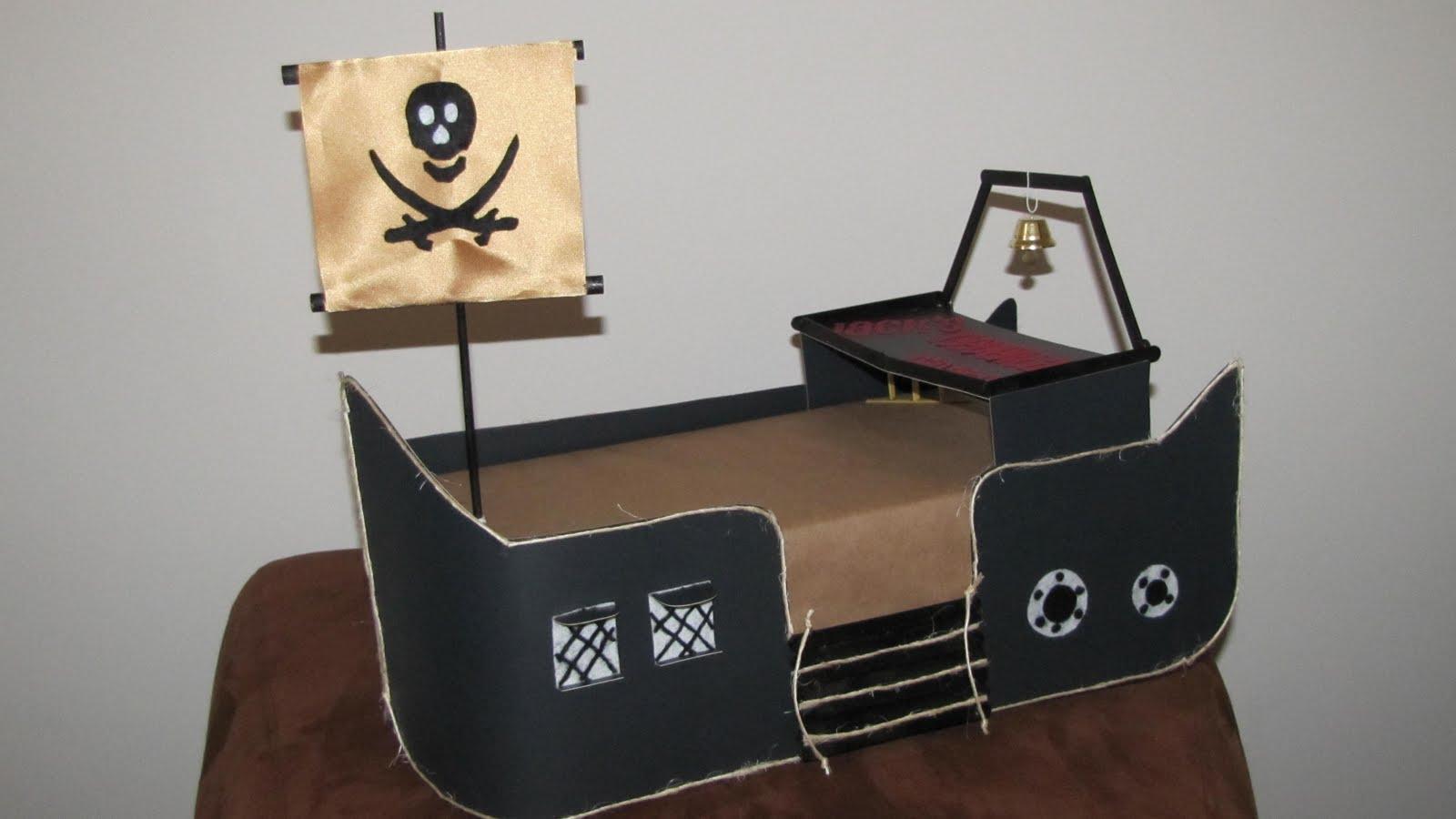 Pirate Ship Cake Stand