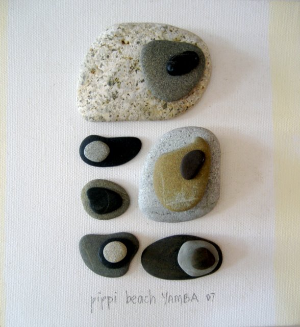 Make a modern art memento dollar store crafts for Crafts made from rocks