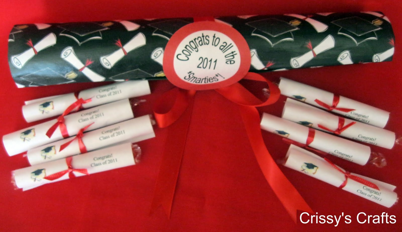 Make Smarties Diploma Graduation Favors » Dollar Store Crafts