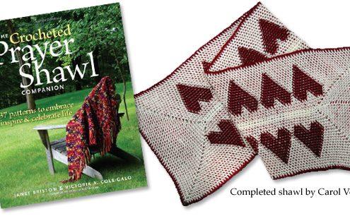 Crocheted Prayer Shawl Companion