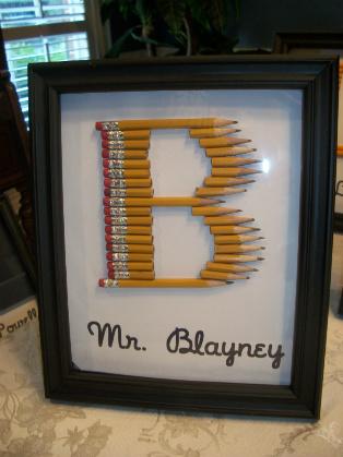 Pencil Monogram