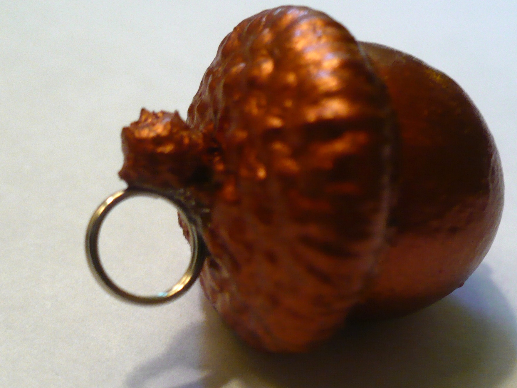 Make an acorn necklace dollar store crafts for How to preserve acorns for crafts