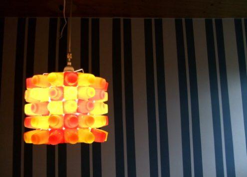 yogurt lamp lit up