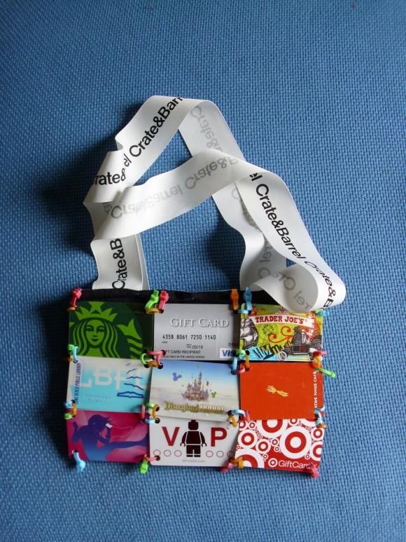 Make A Gift Card Purse Dollar Store Crafts