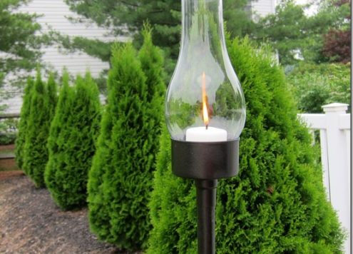 tuna can outdoor torch