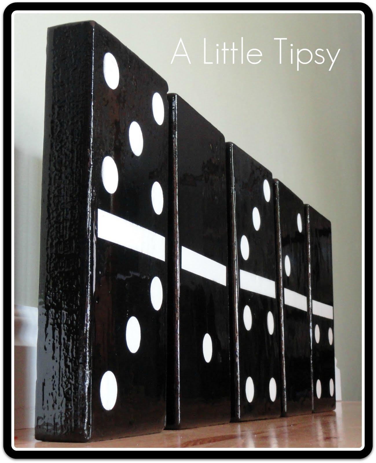 Make Huge Dominoes 187 Dollar Store Crafts