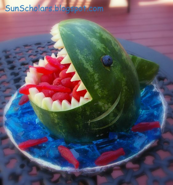 watermelon shark snack