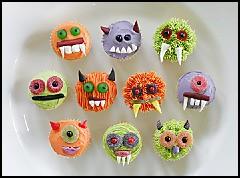 zombie zoo cupcakes