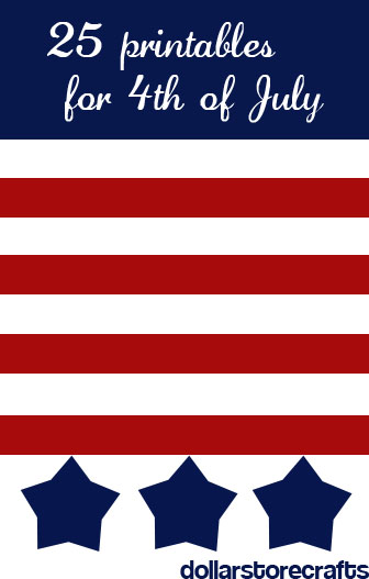 25 4th of july printables