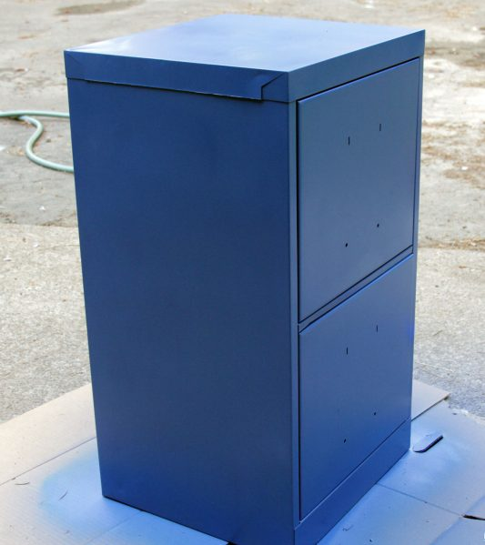 painting file cabinet