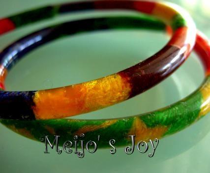 pvc tube bracelet