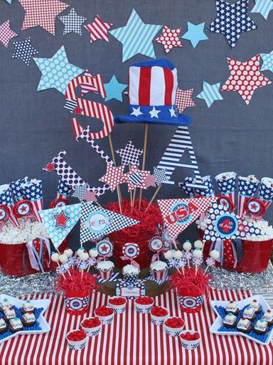 25 printables for the 4th of july dollar store crafts for 4th of july party decoration