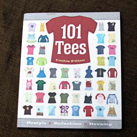 101 tees book by cathie filian