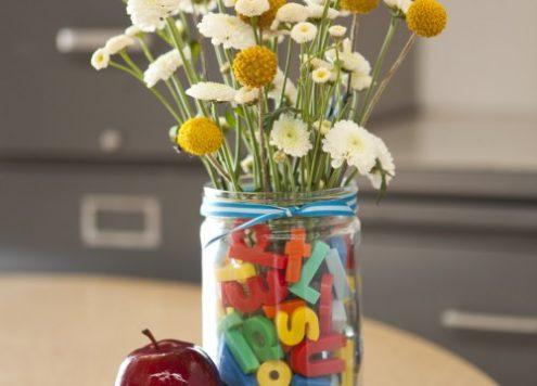 teacher's gift flower arrangement