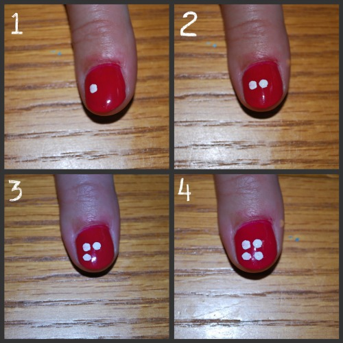 Toothpick Nail Art Designs: Simple Nail Design: Flower Tutorial » Dollar Store Crafts