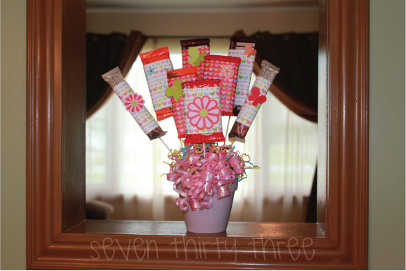 make a candy bar bouquet dollar store crafts