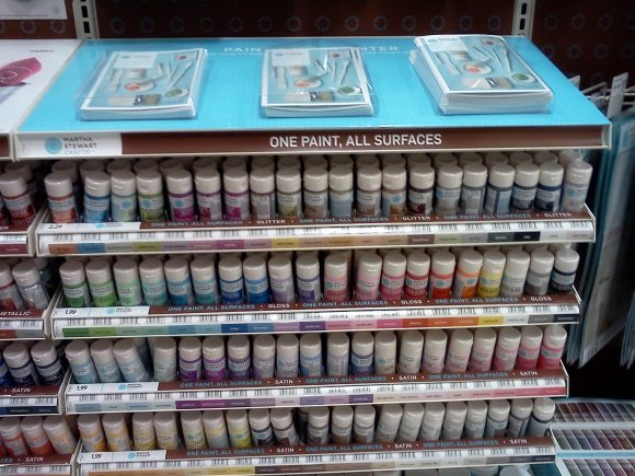 martha stewart paint in michael's