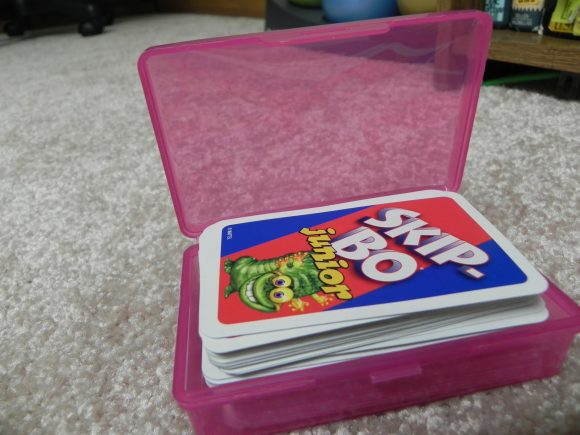 Storage for card games