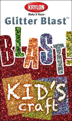 glitter blast kids craft