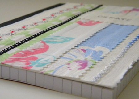 Scrap Fabric Journal
