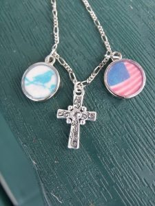 Stars and Stripes Charm Necklace