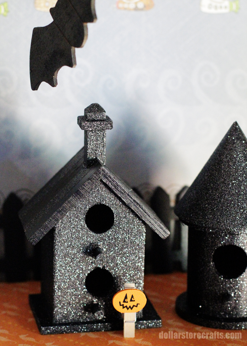 Fantastic Make A Haunted Birdhouse Village Dollar Store Crafts Interior Design Ideas Tzicisoteloinfo