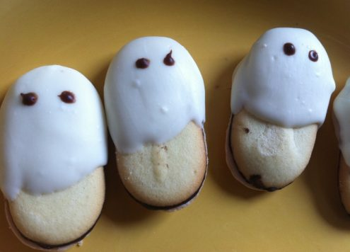 milano ghost cookies