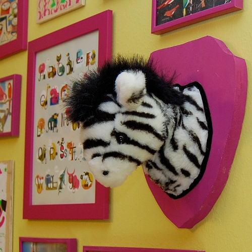 make a mounted stuffed animal head dollar store crafts. Black Bedroom Furniture Sets. Home Design Ideas