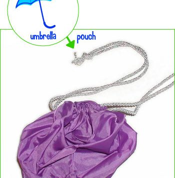 umbrella to pouch