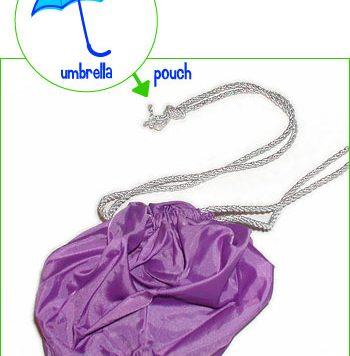 umbrella to pouch