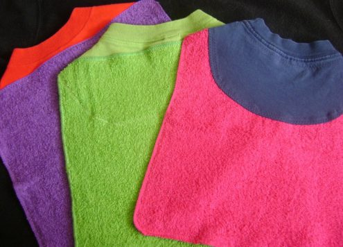 washcloth bibs