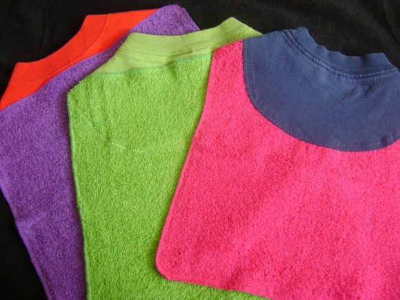 washcloth bibs