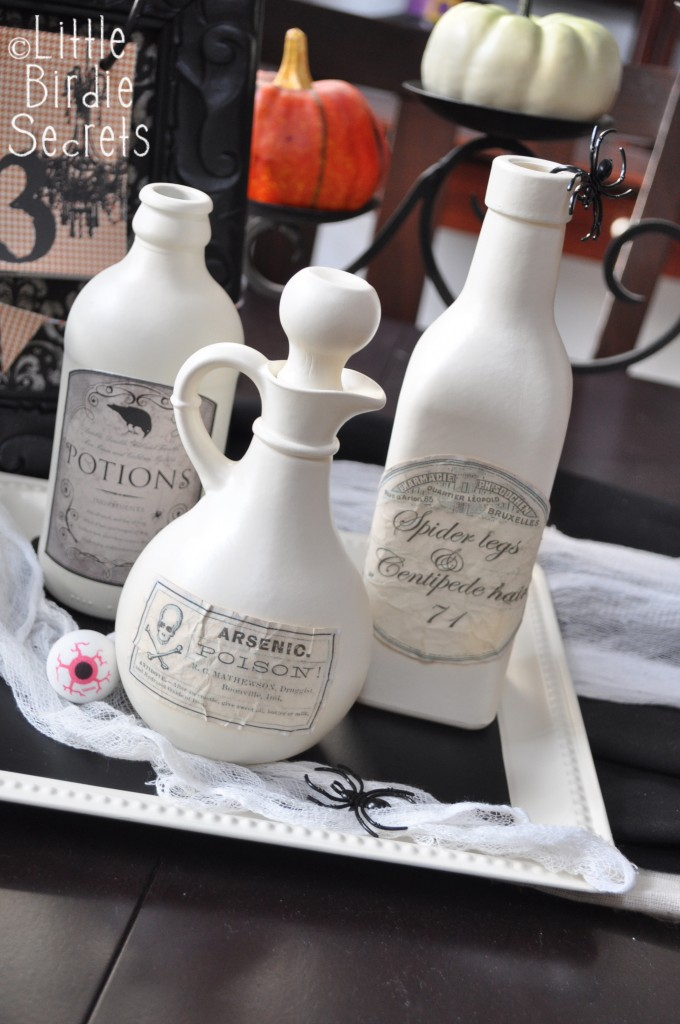 Aged Halloween Potion Bottle Labels by Little Birdies at Make and ...