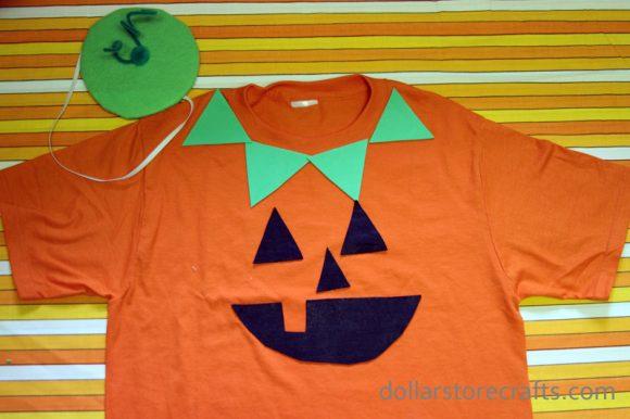 63e6003492722 Tutorial: Halloween Costume: No Sew Jack-o'-Lantern » Dollar Store ...