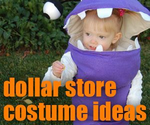 dollar store costume ideas